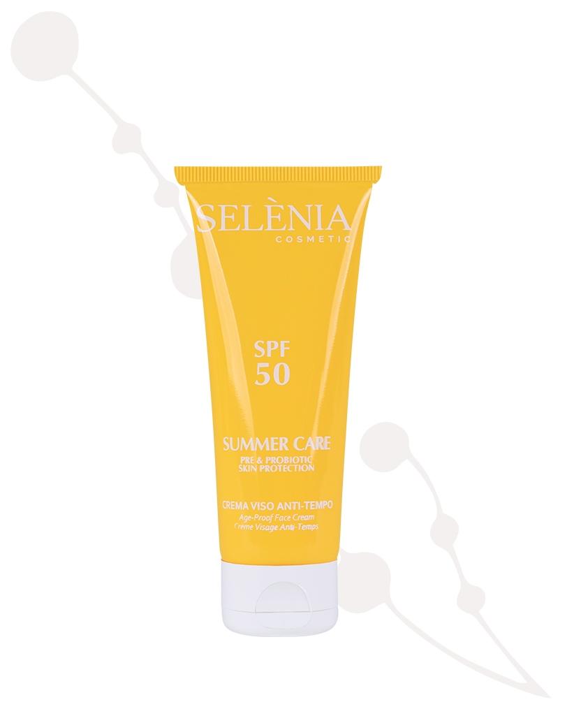 Solaire - crème visage anti-age protection SPF 50