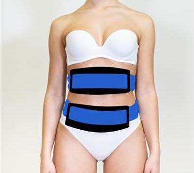 X-Tone Dimagrelle Selenia - Scarlett The Beauty Centre - électrostimulation - ventre