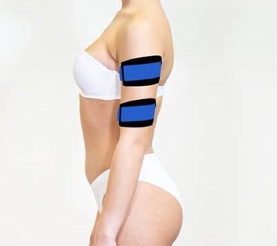 X-Tone Diaùgrelle - électrostimulation - bras