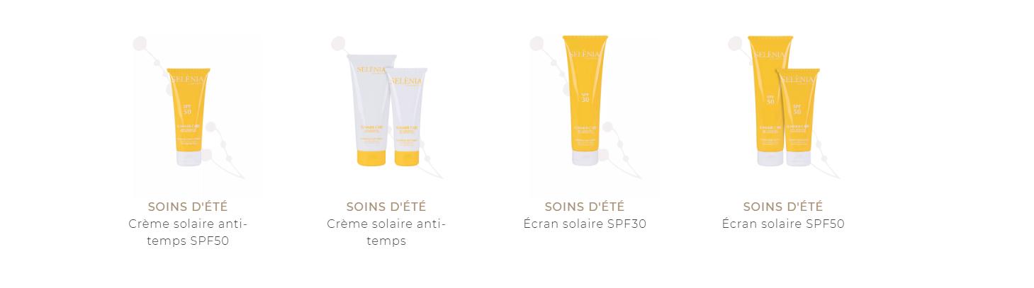 Produits solaires - Selènia