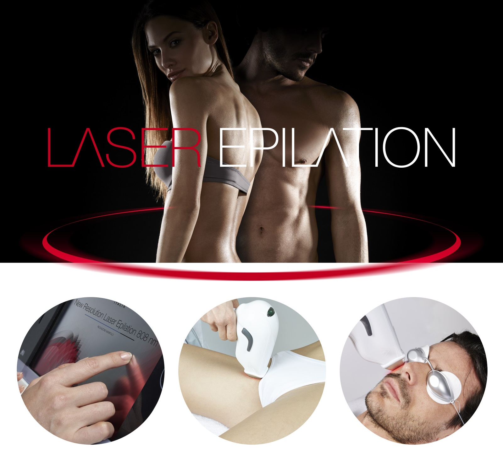 Epilation définitive Laser Diode HD Matrix 808 nm